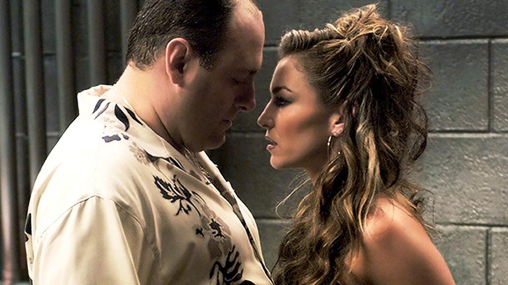 Los Soprano Tony y Adriana